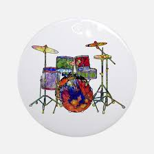 drum set ornament cafepress