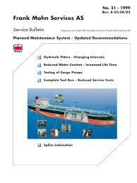 download planned maintenance system in shipping docshare tips