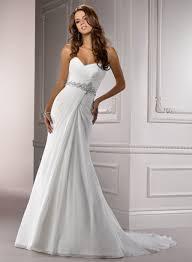 chiffon wedding dresses a line sweetheart court chiffon wedding dress dresscab