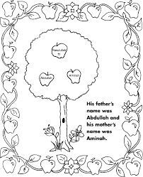 muslim coloring pages to print coloring pages