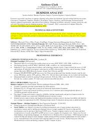 Resume Samples Experienced by Sample Resume Business Analyst Sample Resumes Sample Ba Resumes