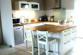 cuisine pas cher ilot cuisine table bar fabriquer ilot central cuisine pas cher