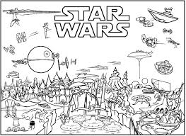 star wars coloring pages free printable lets party