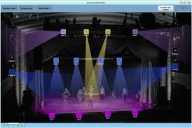 dmx light control software for ipad d pro software
