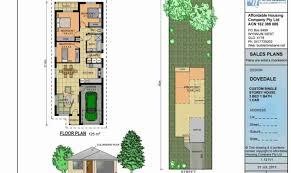 single story narrow lot house plans ideas house plans 68163