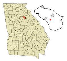 Georgia Zip Codes Map by Bishop Georgia Wikipedia