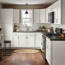 Shop Kitchen Cabinetry At Lowescom - White cabinets kitchen