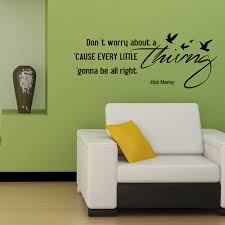 dont worry about a thing song lyrics quote wall