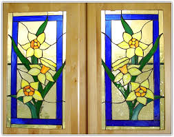 Stained Glass Kitchen Cabinet Doors by Stained Glass Kitchen Cabinet Doors Home Design Ideas