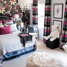 Pink And Black Bedrooms Pink And Black Bedroom Color Scheme Contemporary Bedroom