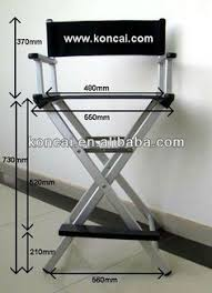 portable makeup chair with side table new professional foldable makeup artist directors wood chair light