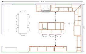 kitchen layout with island brilliant best 25 kitchen layouts ideas on planning