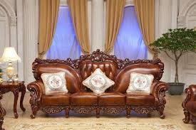 antique sofa set designs online shop luxury european style antique sofa sectional oak wood