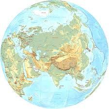 Maps Asia by Continent Of Asia Maps And Pictures With Globe Map Asia