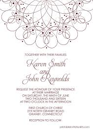 Wedding Template Invitation 210 Best Wedding Invitation Templates Free Images On Pinterest