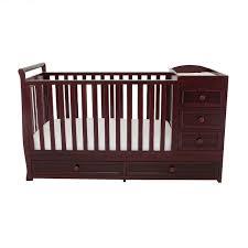 repurposed baby crib sewing table hometalk