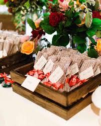 fall wedding favors 34 festive fall wedding favor ideas martha stewart weddings
