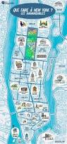 A Map Of New York State by