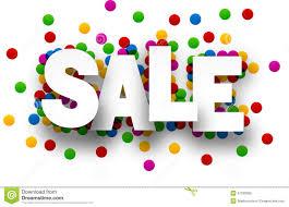 paper sale confetti sign stock vector image of sale 57530065