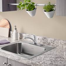 Colony Xinch Stainless Steel Kitchen Sink  Hole American - Stainless steel single bowl kitchen sink