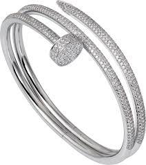 cartier bracelet diamond images Cartier juste un clou bracelet diamonds top brand 18k gold png