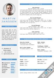 it resume template word cv resume template helsinki docx pptx gosumo