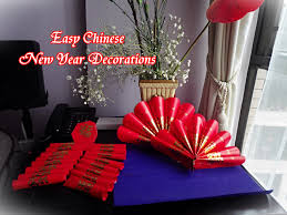 New Year Board Decorations by Quick And Easy Chinese New Year Decoration Youtube