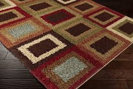red and brown area rugs rugs inspiration