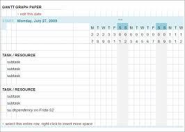 Gannt Chart Template Excel Gantt Chart Template 9 Free Sle Exle Format