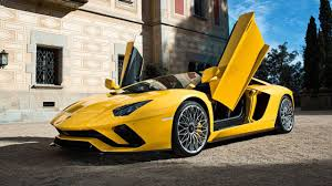 yellow lamborghini aventador 2018 lamborghini aventador s roadster gets rendered