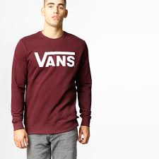 vans sweater vans sweater vans port royale white