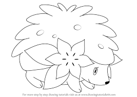 shaymin pokemon color images pokemon images