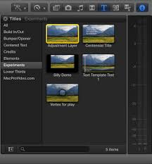 final cut pro text effects fcp x tutorial using adjustment layers to audition effects final