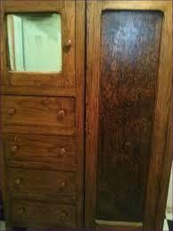 Vintage Armoire Bedroom Wonderful Vintage Hardware Mirrored Antique Armoire