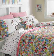 Hello Kitty Duvet Girls U0027 Bedding Non Pink Bedding For Girls Ginger U0026 May