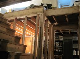 Finish Stairs To Basement by Basement Stair Framing Home Improvement Blog