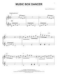 box frank mills box dancer sheet by frank mills easy piano 184026