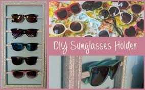 diy sunglasses storage organizer summer room decor youtube