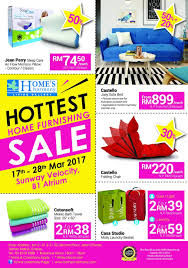 home u0027s harmony hottest home furnishing sale at sunway velocity