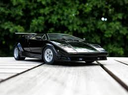 all black lamborghini autoart lamborghini countach 25th anniversary black lamborghini