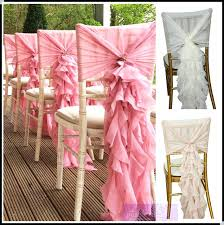 fancy chair covers chiffon chair covers cynna