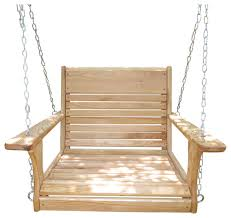 wood tree swings big guy chair swing with chain hanging kit
