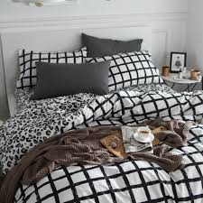Black And White Bed Sheets Online Get Cheap Kids Bedding Set Aliexpress Com Alibaba Group