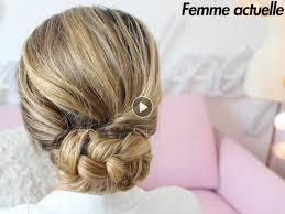 cuisiner des chignons en boite tutoriel coiffure le chignon bas femme actuelle