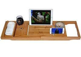 adjustable bathtub caddy royal craft wood bamboo bathtub caddy bath tub tray with
