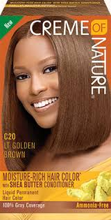 Hair Color Light Brown Light Golden Brown Creme Of Nature