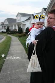 Halloween Owl Costume by Diy Halloween Baby Toddler Hedwig The Owl Costume From Harry