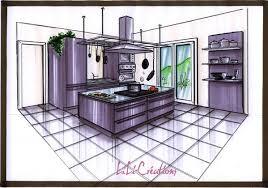 cuisine au milieu de la cuisine inox le de elise fossoux