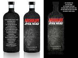 Serre Livre Geek Absolut Darth Maul Vodka Star Wars Live Long And Prosper