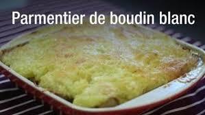 cuisiner boudin blanc recette parmentier de boudin blanc et pommes